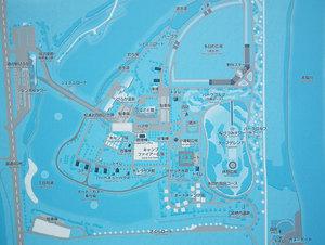 びふかアイランドのマップ