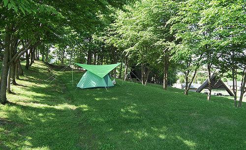 場 日の出 キャンプ 公園 オート