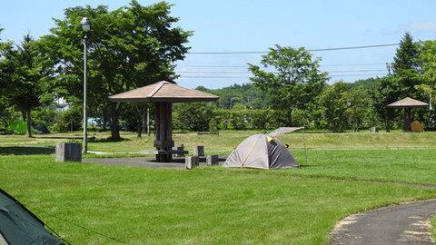 別海ふれあいキャンプ場 フリーテントサイト