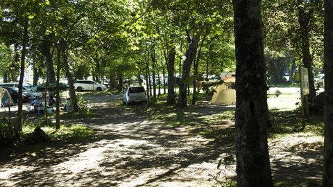 美笛キャンプ場 サイト