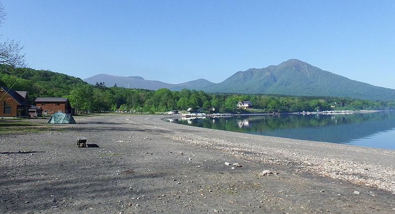 支笏湖 モラップキャンプ場