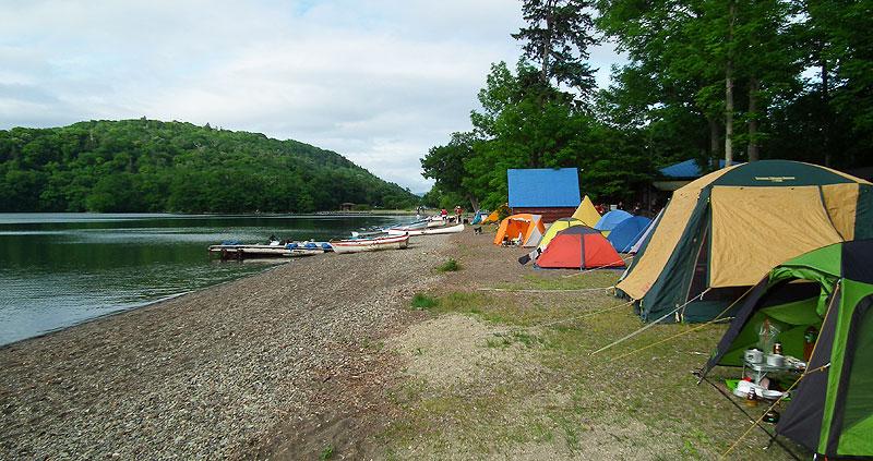 和琴半島湖畔キャンプ場