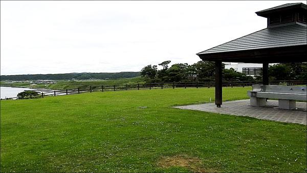 初山別村みさき台公園キャンプ場 2つ目のフリーサイト