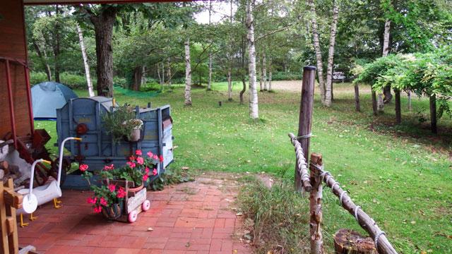森のキッチンかわいのエントランス