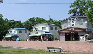 和琴半島の民宿と売店