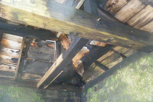 濁川温泉 新栄館の湯屋の天井
