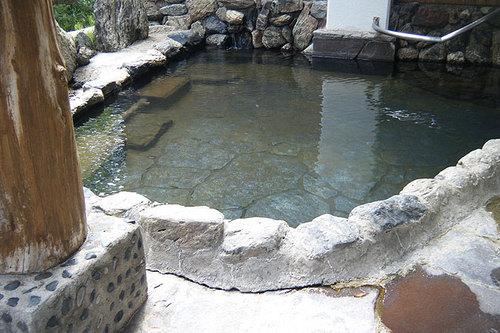 クアプラザピリカ 露天風呂 その2