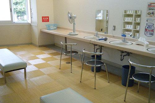 クアプラザピリカ 脱衣室