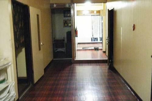 ホテル王将 浴室へ続く廊下