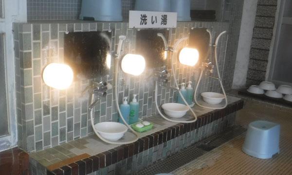 カルルス温泉鈴木旅館 洗い場