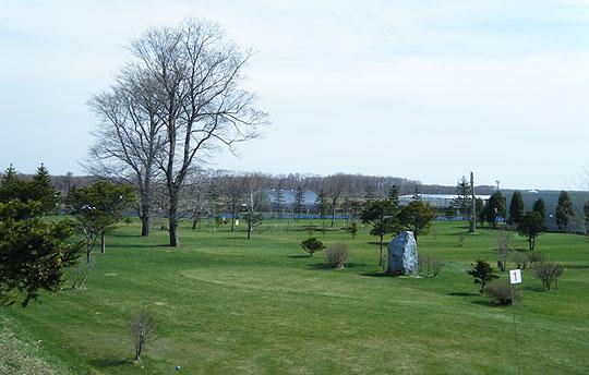恵庭温泉 ラ・フォーレのパークゴルフ場