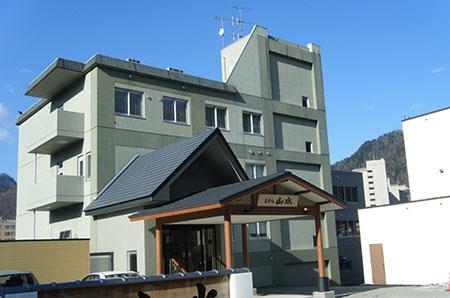 定山渓温泉 ホテル山水