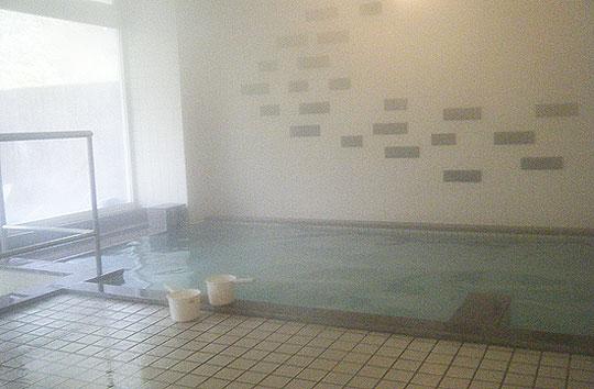 小金湯温泉 まつの湯の内風呂
