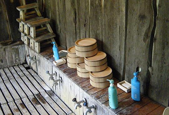 ヌタプカウシペの洗い場