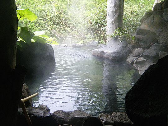 ヌタプカウシペの露天風呂
