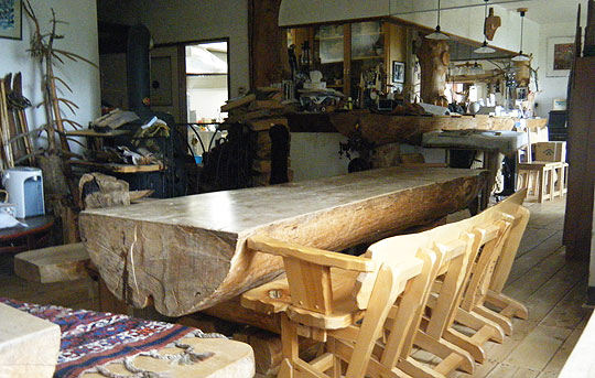ヌタプカウシペのテーブル