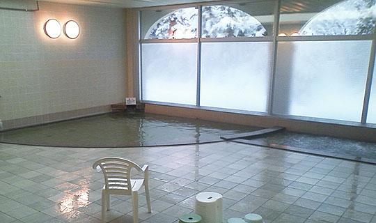 びふか温泉の浴室