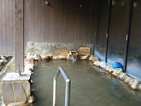 神々の湯の露天風呂