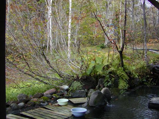 新見温泉 木立の湯 別角度から