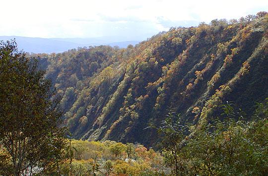 奥ニセコ渓谷