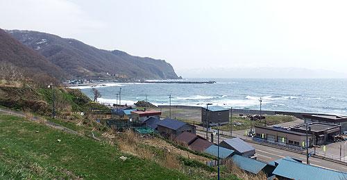 盃温泉 潮香荘から見える景観