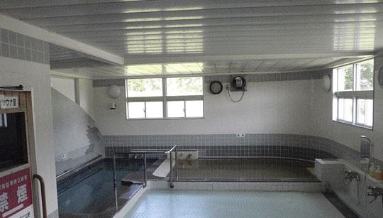ピンネシリ温泉の浴室
