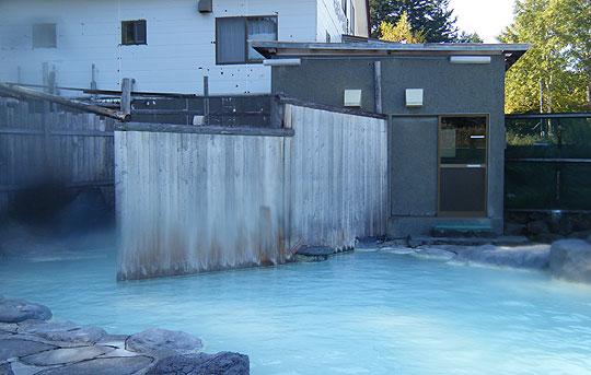 景福の露天風呂