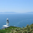チキウ岬灯台と駒ケ岳