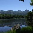 知床連山と二湖