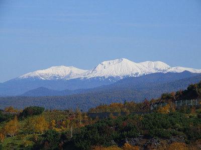 2008年秋の旭岳