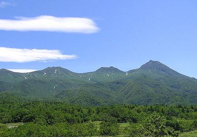 2007年夏の知床連山