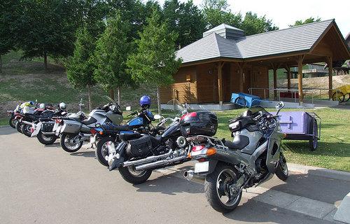 2009-07-06-上富良野町日の出公園オートキャンプ場に到着