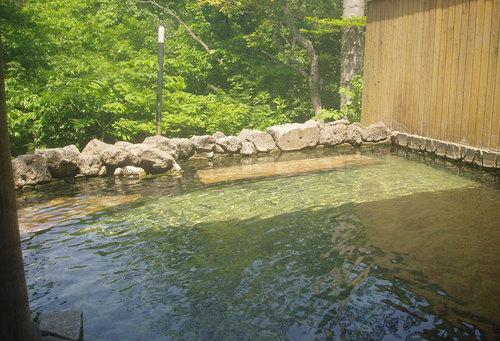 2009-07-06-糠平館 観光ホテルの露天風呂
