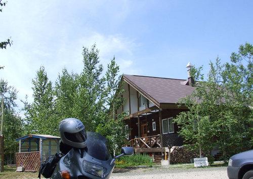 2009-07-07-美瑛 レストラン バーチ 外観