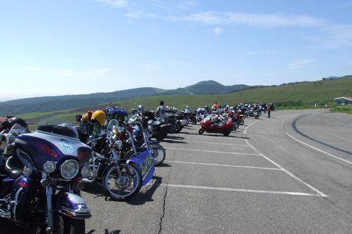 2009-08-01 会場のバイク