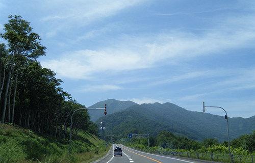 2014-08-03-十勝清水から日勝峠へ向かう