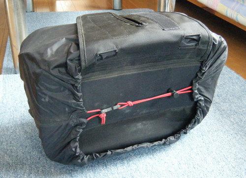 シェルケースのレインカバーの固定ゴム
