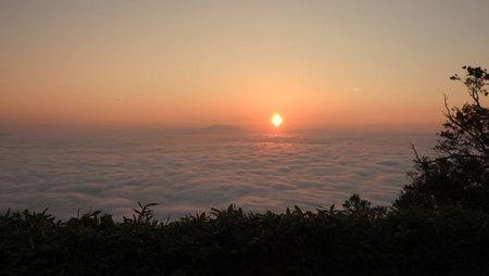 2016-08-13-津別峠からの日の出と雲海 その2