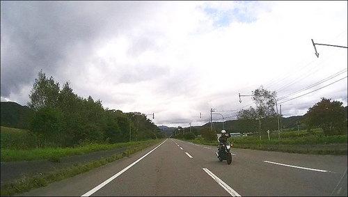 2016-09-11すれ違うライダー