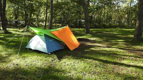 2016-10-07-東大沼キャンプ場で見たテント