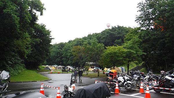 2017-08-13-上士幌航空公園キャンプ場の様子