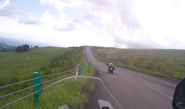 2017-09-10-ナイタイ高原 Versysカメラから頂上付近