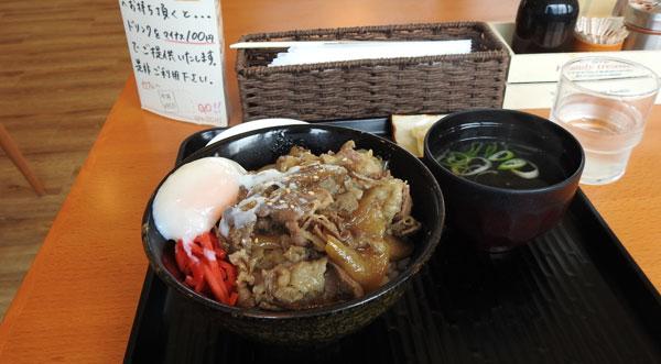 2017-09-16-にじいろ食堂の士幌牛丼定食