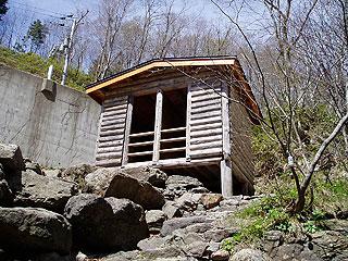 平田内 熊の湯の脱衣所