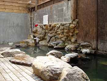 朝日温泉の内風呂