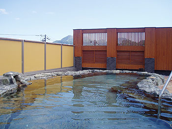ポロモイの露天風呂