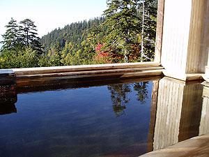 カミホロ荘の露天風呂