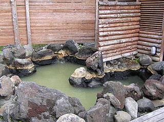 湯元白金温泉ホテルの混浴露天風呂
