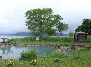 池の湯と脱衣所