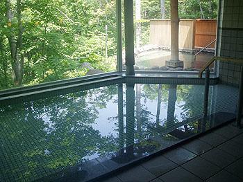糠平館 観光ホテルの内風呂